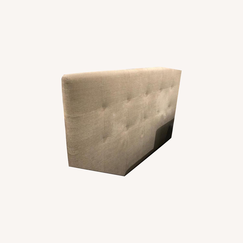 Calligaris Queen Upholstered Headboard - image-0