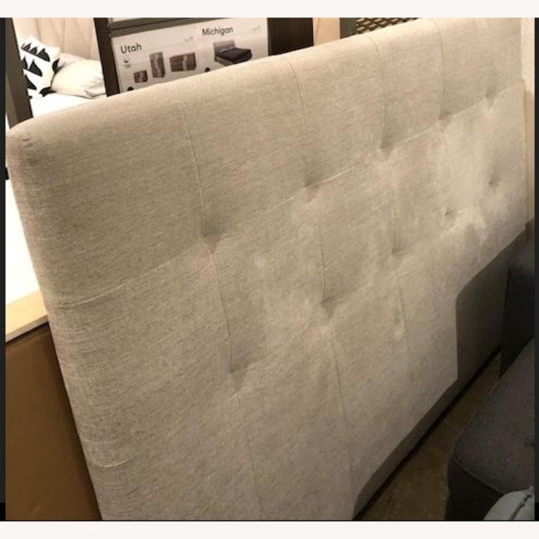 Calligaris Queen Upholstered Headboard - image-1