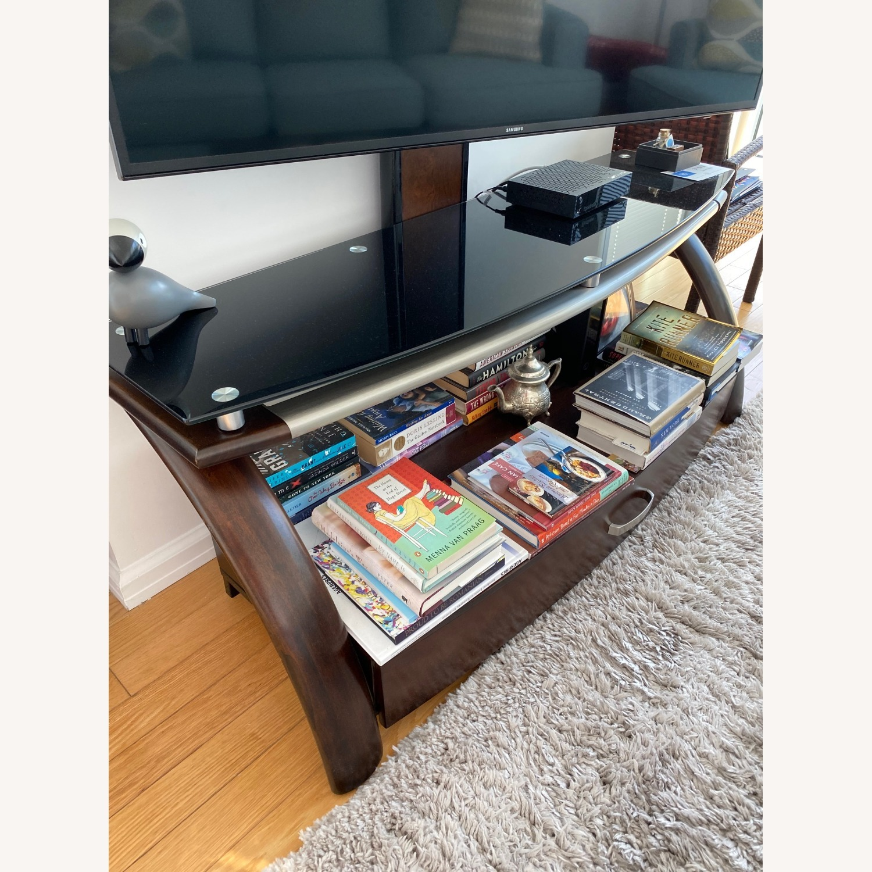 Raymour & Flanigan Brooks TV console - image-1