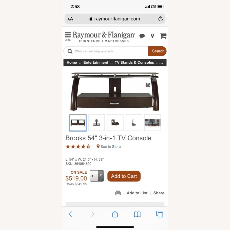 Raymour & Flanigan Brooks TV console - image-4
