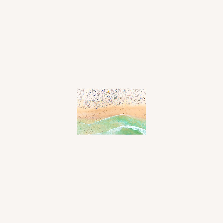 Gray Malin Bondi Beach w/ White Frame - image-0
