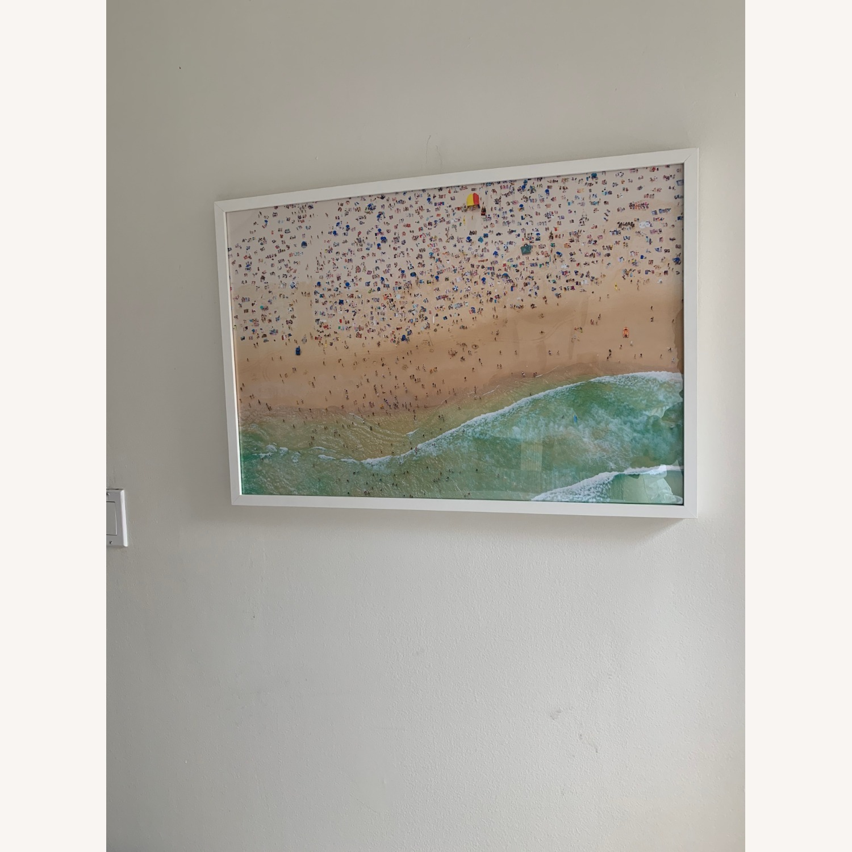 Gray Malin Bondi Beach w/ White Frame - image-3