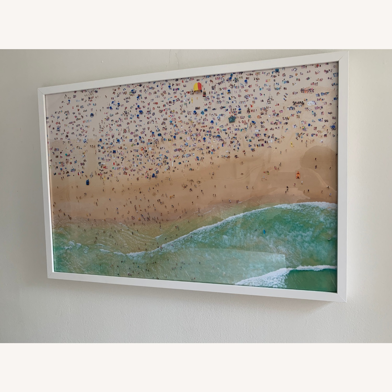Gray Malin Bondi Beach w/ White Frame - image-4