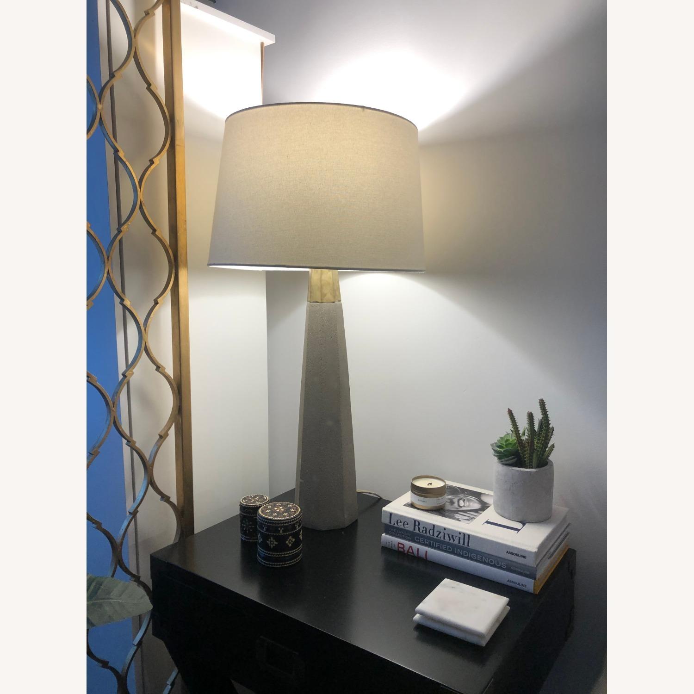 Lulu & Georgia Cement Lamp - image-2