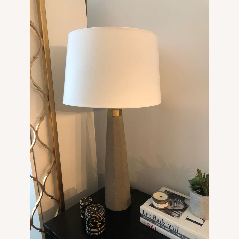 Lulu & Georgia Cement Lamp - image-1