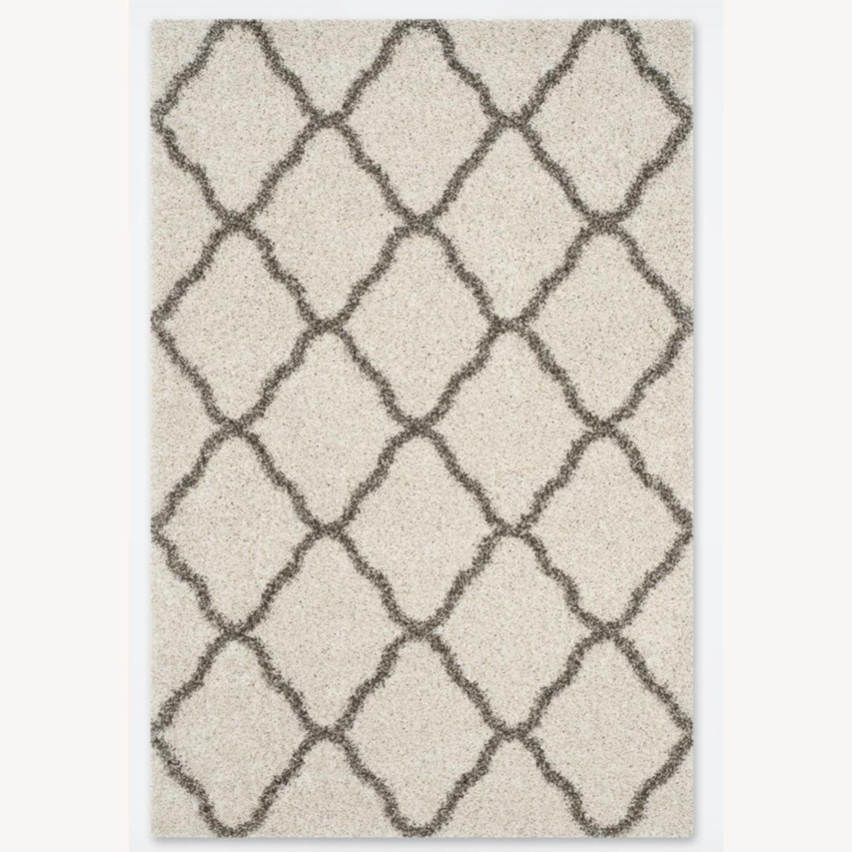 Safavieh Shaggy Area Rug Ivory / Grey - image-1