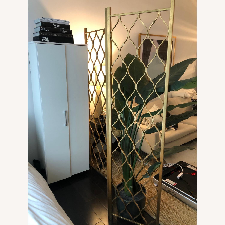 Gold Leaf Room Divider Screen - image-2