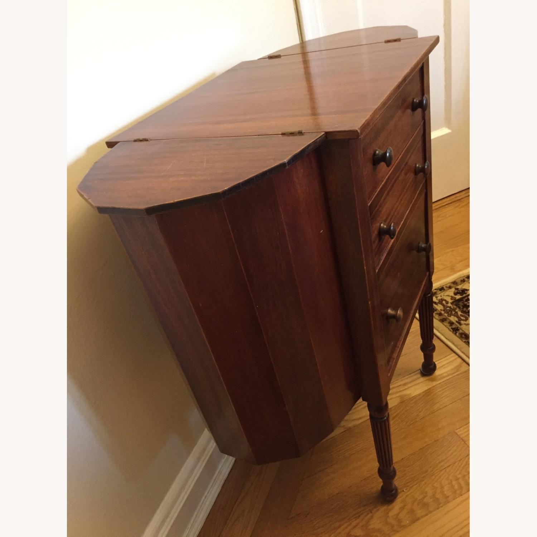 Antique Martha Washington Sewing Table - image-1