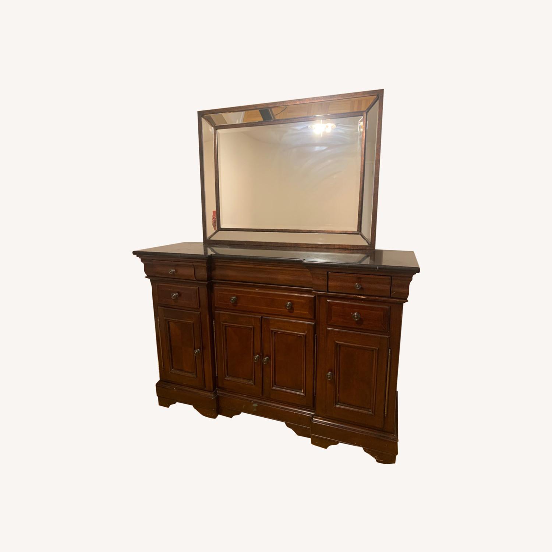 Dresser with Mirror - image-0