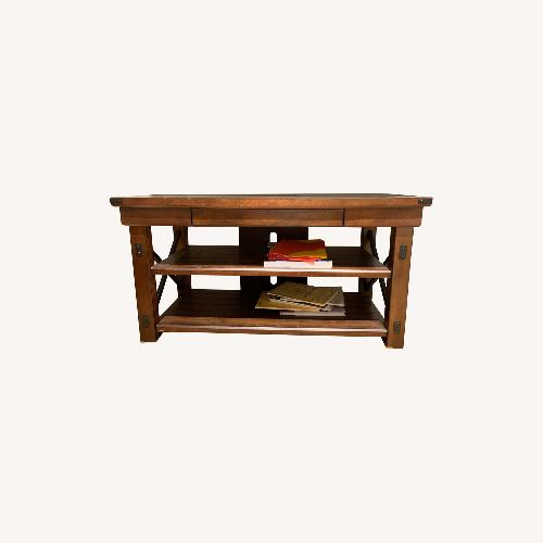 Used Joss & Main Wood TV Stand for sale on AptDeco