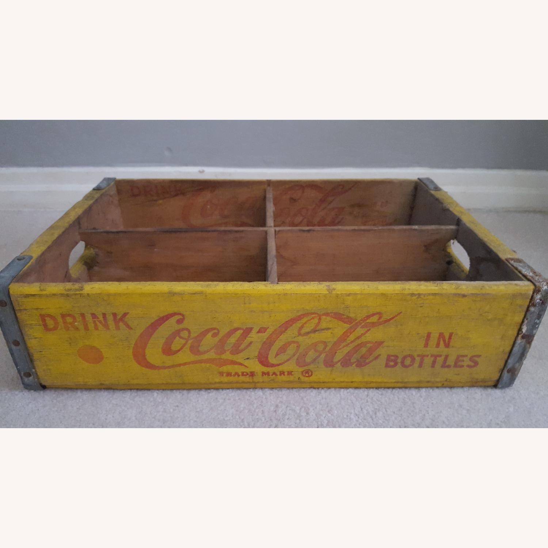 Coca-Cola Original Soda Bottle Crate - image-1