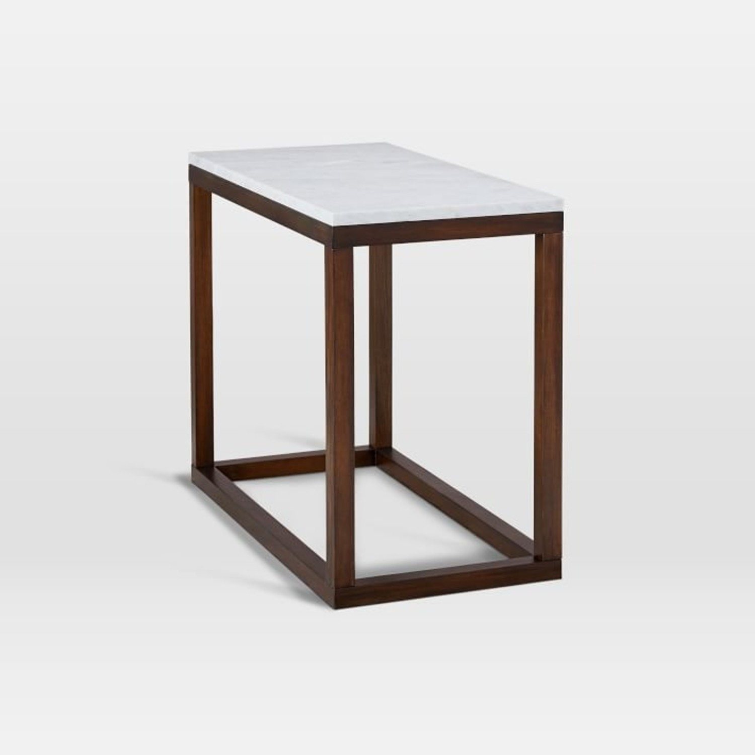 West Elm Wood Frame Side Table - image-2