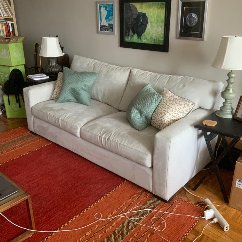 Crate & Barrel Axis Queen Sleeper Sofa - image-1