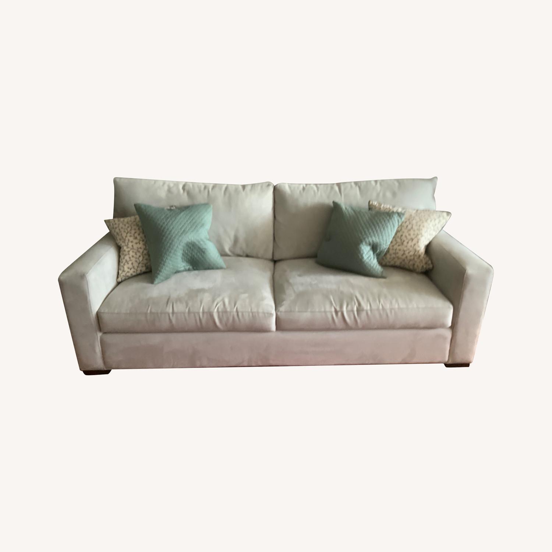 Crate & Barrel Axis Queen Sleeper Sofa - image-0
