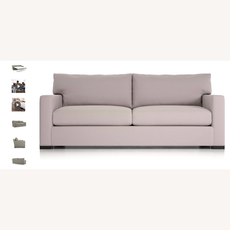 Crate & Barrel Axis Queen Sleeper Sofa - image-2