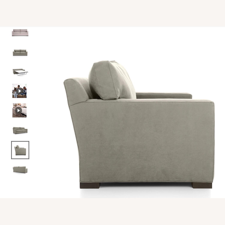 Crate & Barrel Axis Queen Sleeper Sofa - image-5
