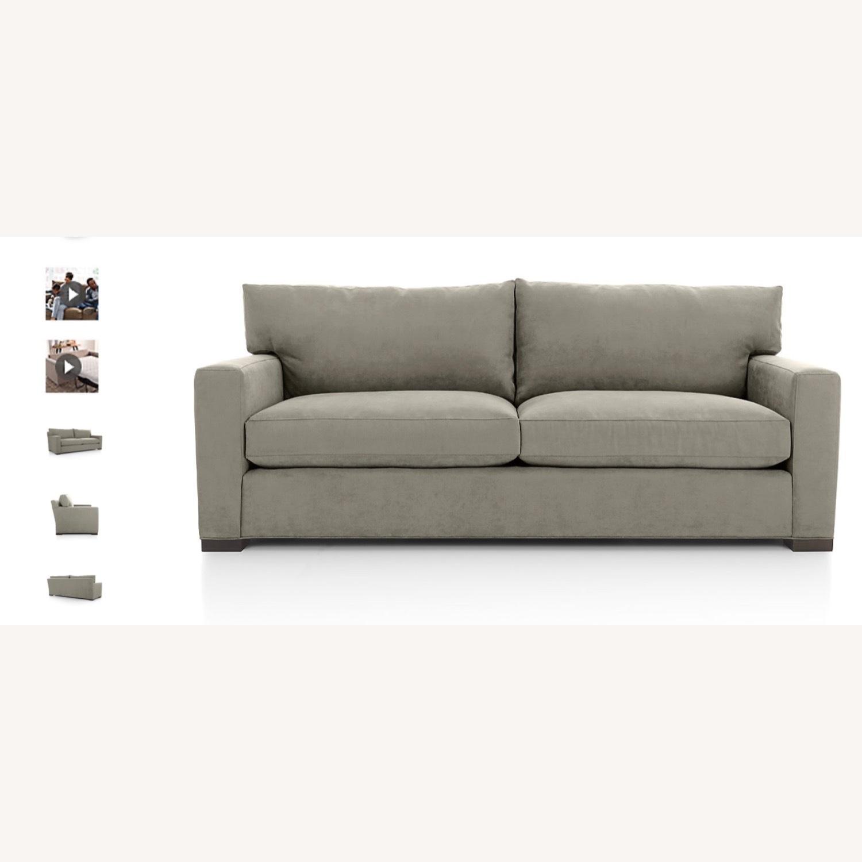 Crate & Barrel Axis Queen Sleeper Sofa - image-3