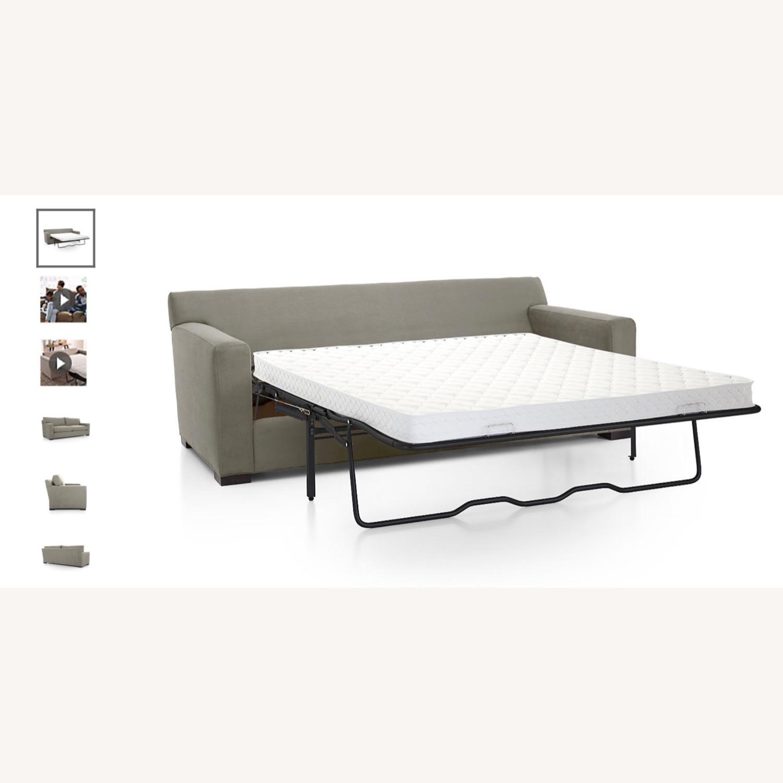 Crate & Barrel Axis Queen Sleeper Sofa - image-4