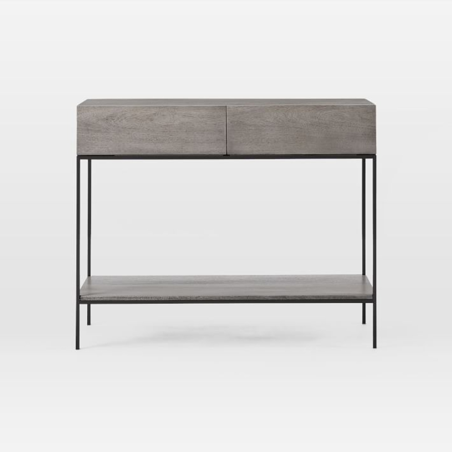 West Elm Industrial Storage Console, Gray - image-3