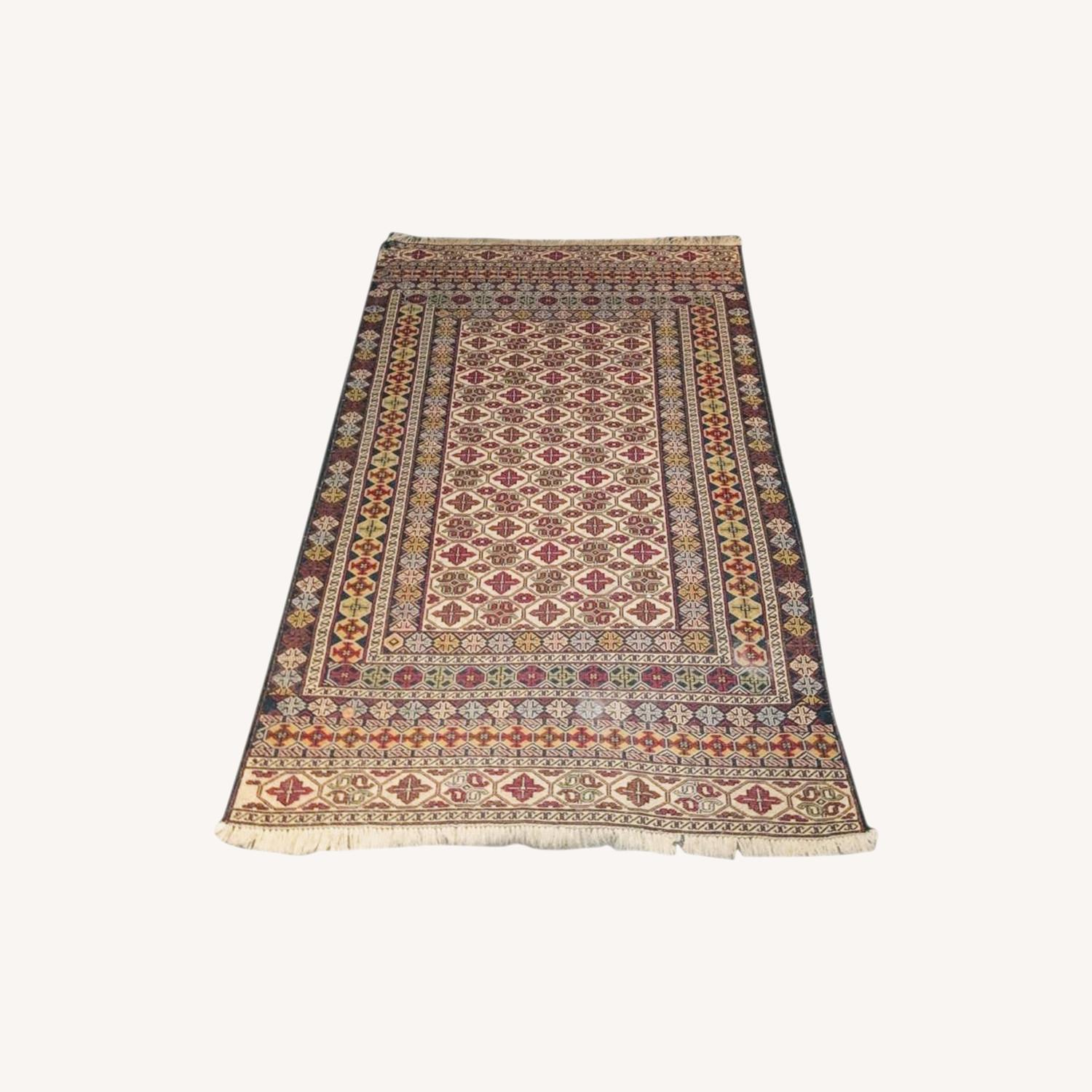 Afghan carpet - image-0