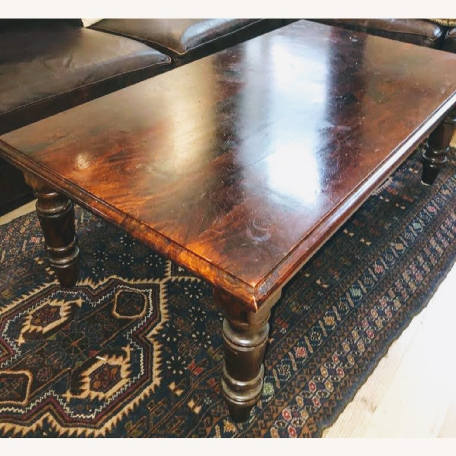 Wooden Coffee Table - image-2