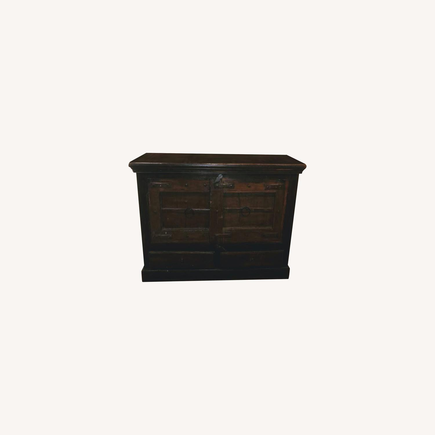Wooden Cabinet with doors - image-0