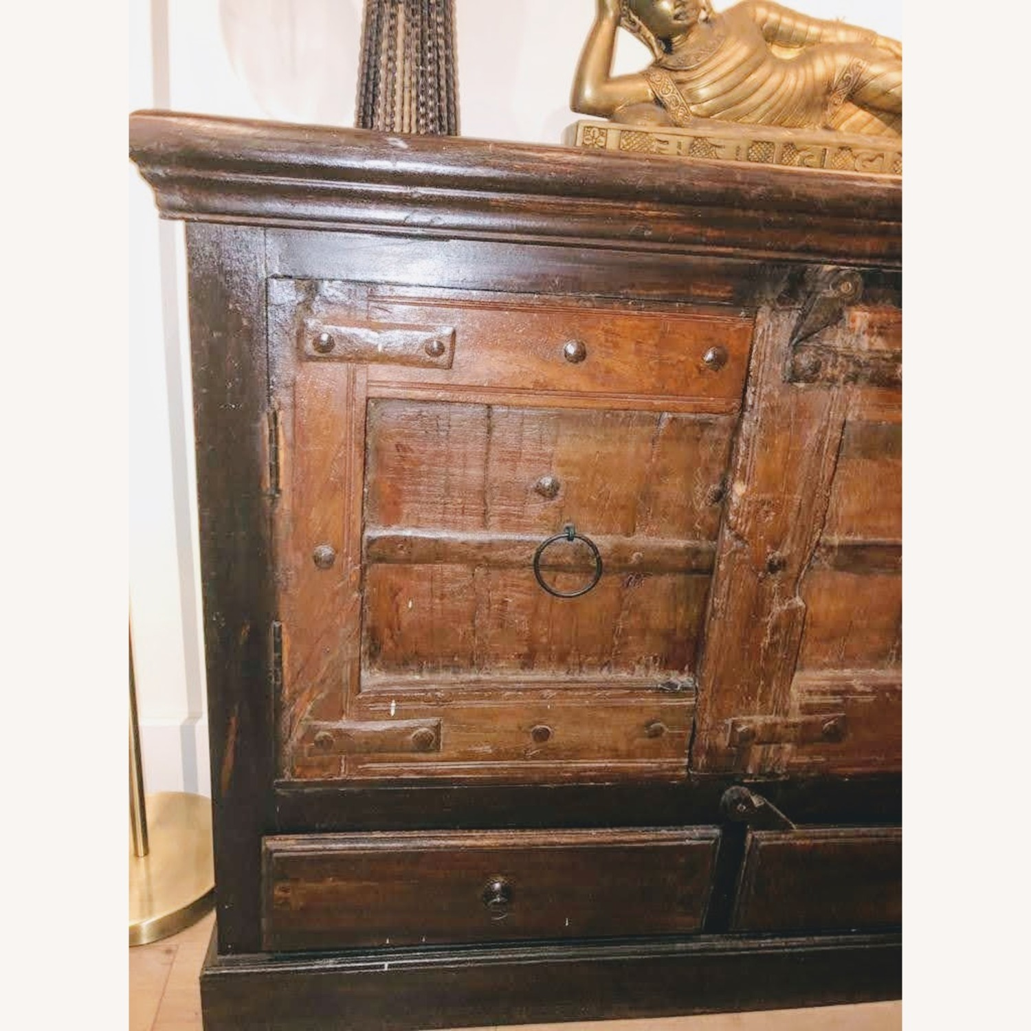 Wooden Cabinet with doors - image-3