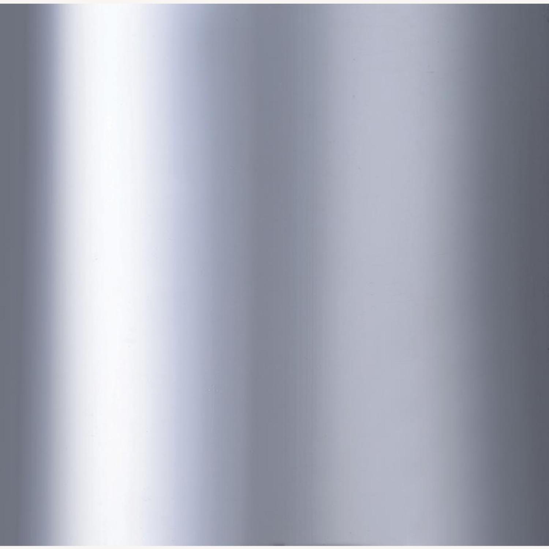 Elegant Counter Height Stool In Chrome Finish - image-3