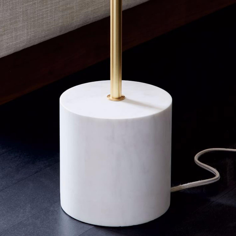 West Elm Sphere & Stem 2-Light Floor Lamp - image-3