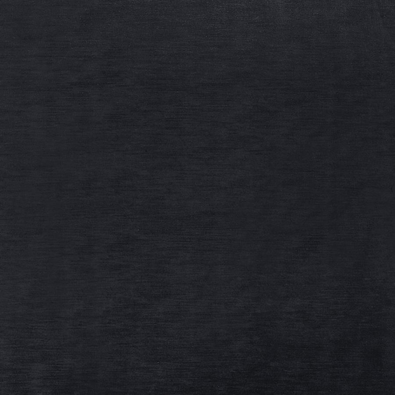 Reversible Ottoman In Charcoal Velvet - image-3
