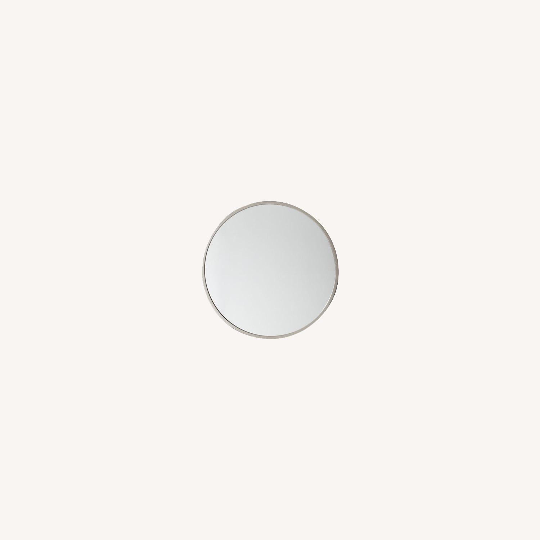 West Elm Metal Framed Mirror - image-0