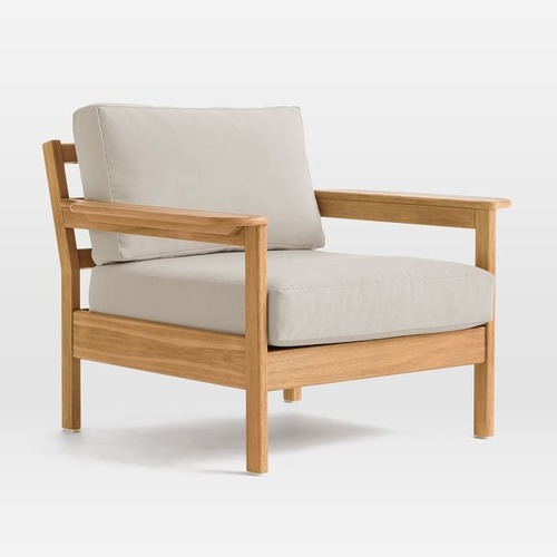 Used West Elm Playa Outdoor Lounge Chair for sale on AptDeco