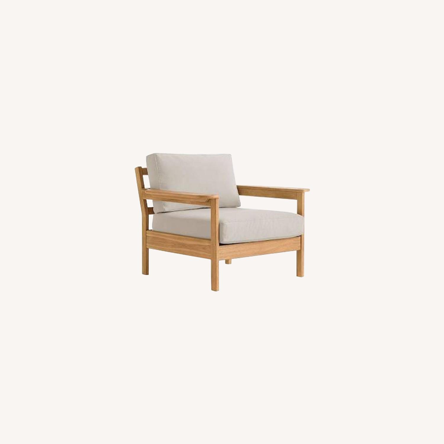 West Elm Playa Outdoor Lounge Chair - image-0