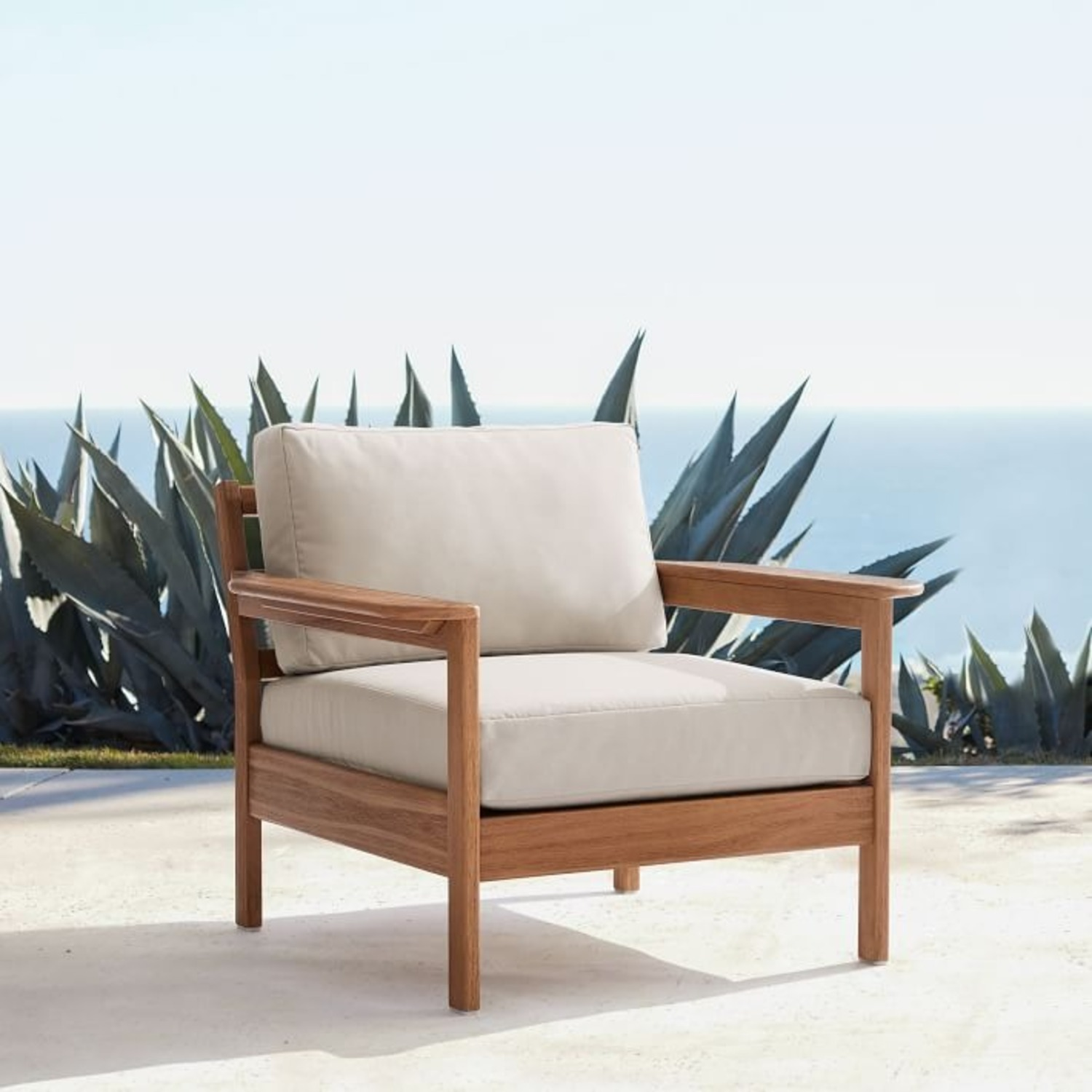 West Elm Playa Outdoor Lounge Chair - image-3