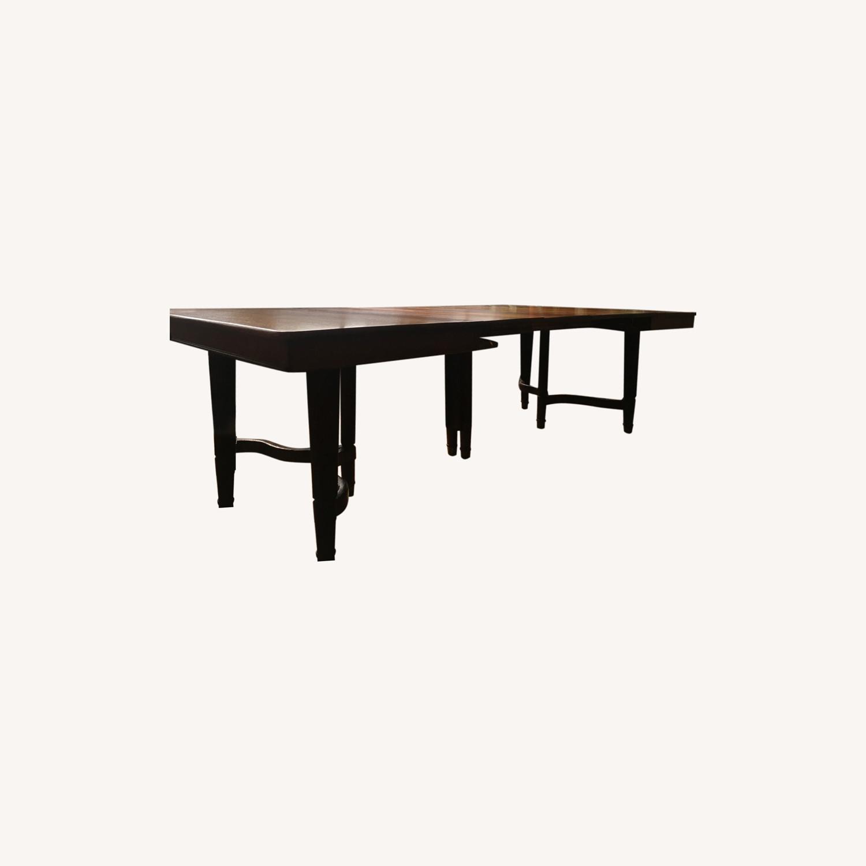 Loft Table-Solid Mahogany - image-0