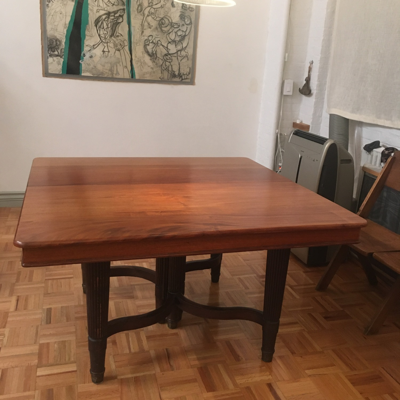 Loft Table-Solid Mahogany - image-5