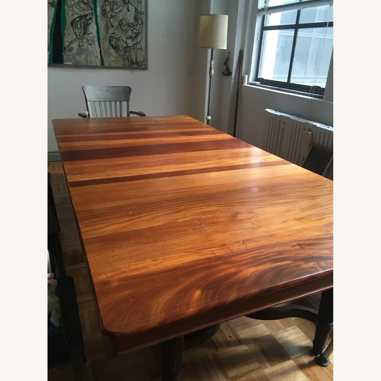 Loft Table-Solid Mahogany - image-1