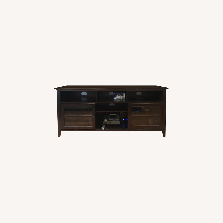 Hardwood Media Stand - image-0