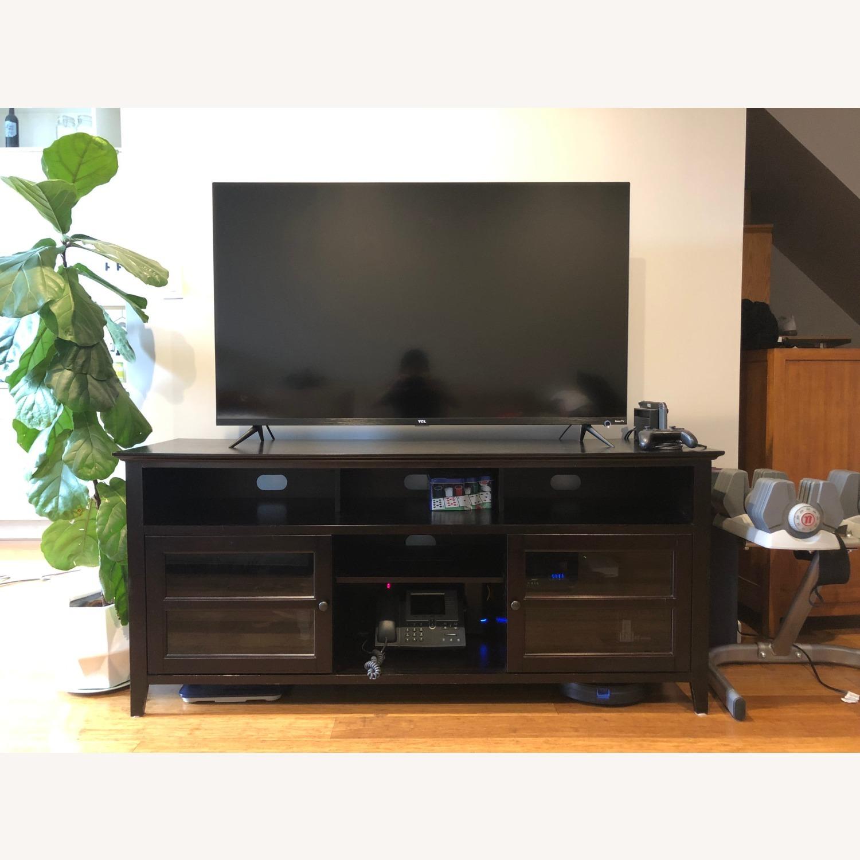 Hardwood Media Stand - image-1
