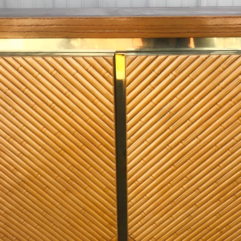 Vintage Modern Boho Armoire Dresser - image-8