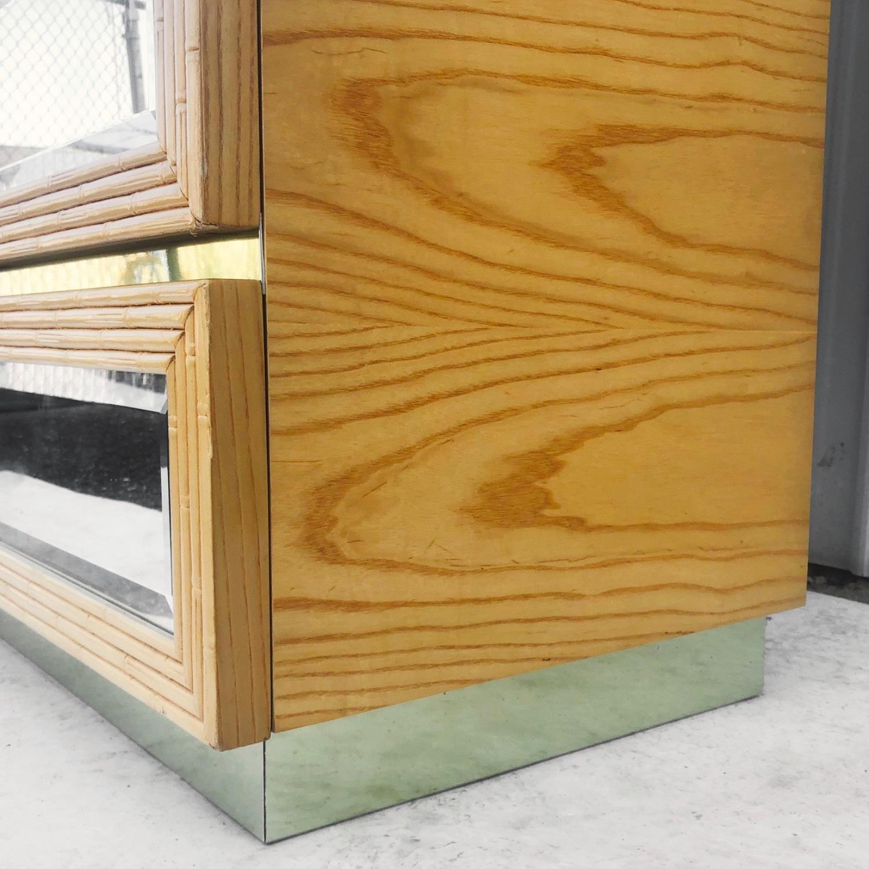 Vintage Modern Boho Armoire Dresser - image-11