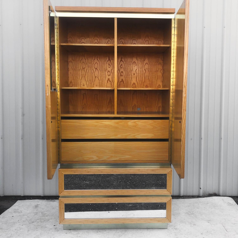 Vintage Modern Boho Armoire Dresser - image-3