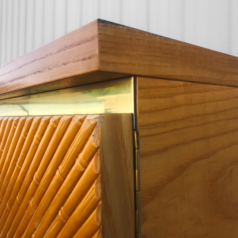 Vintage Modern Boho Armoire Dresser - image-12