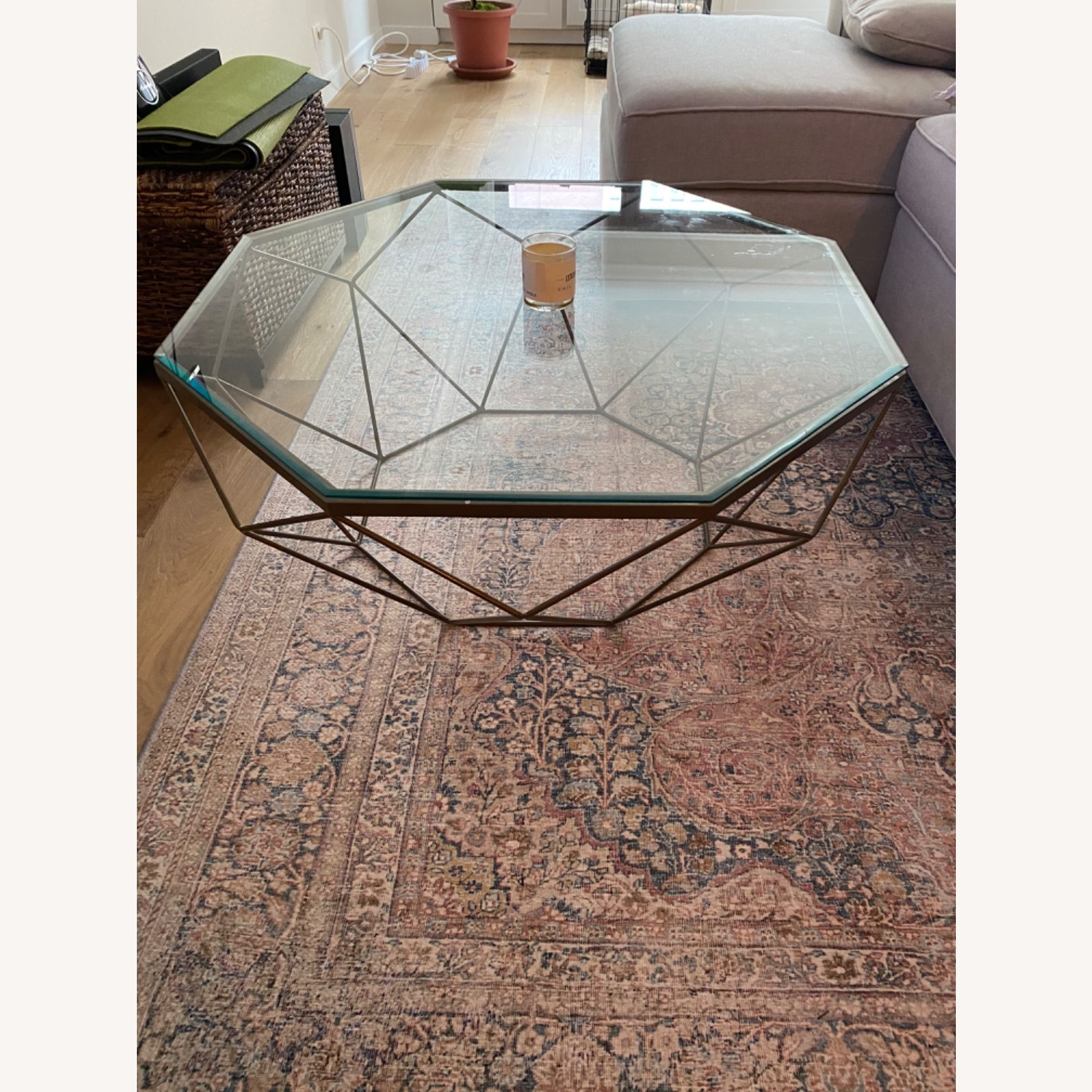 Four Hands Geometric Coffee Table - image-1
