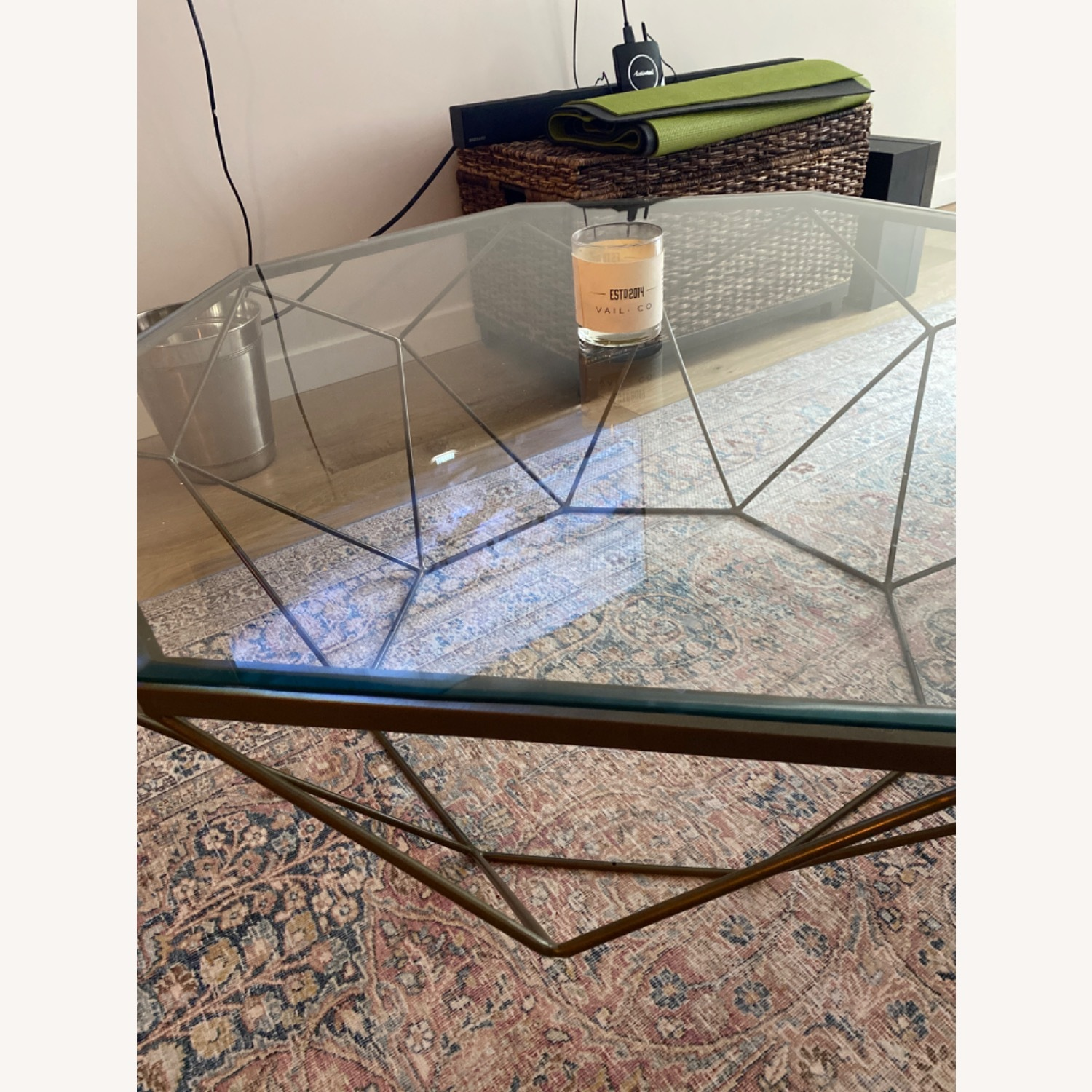 Four Hands Geometric Coffee Table - image-3