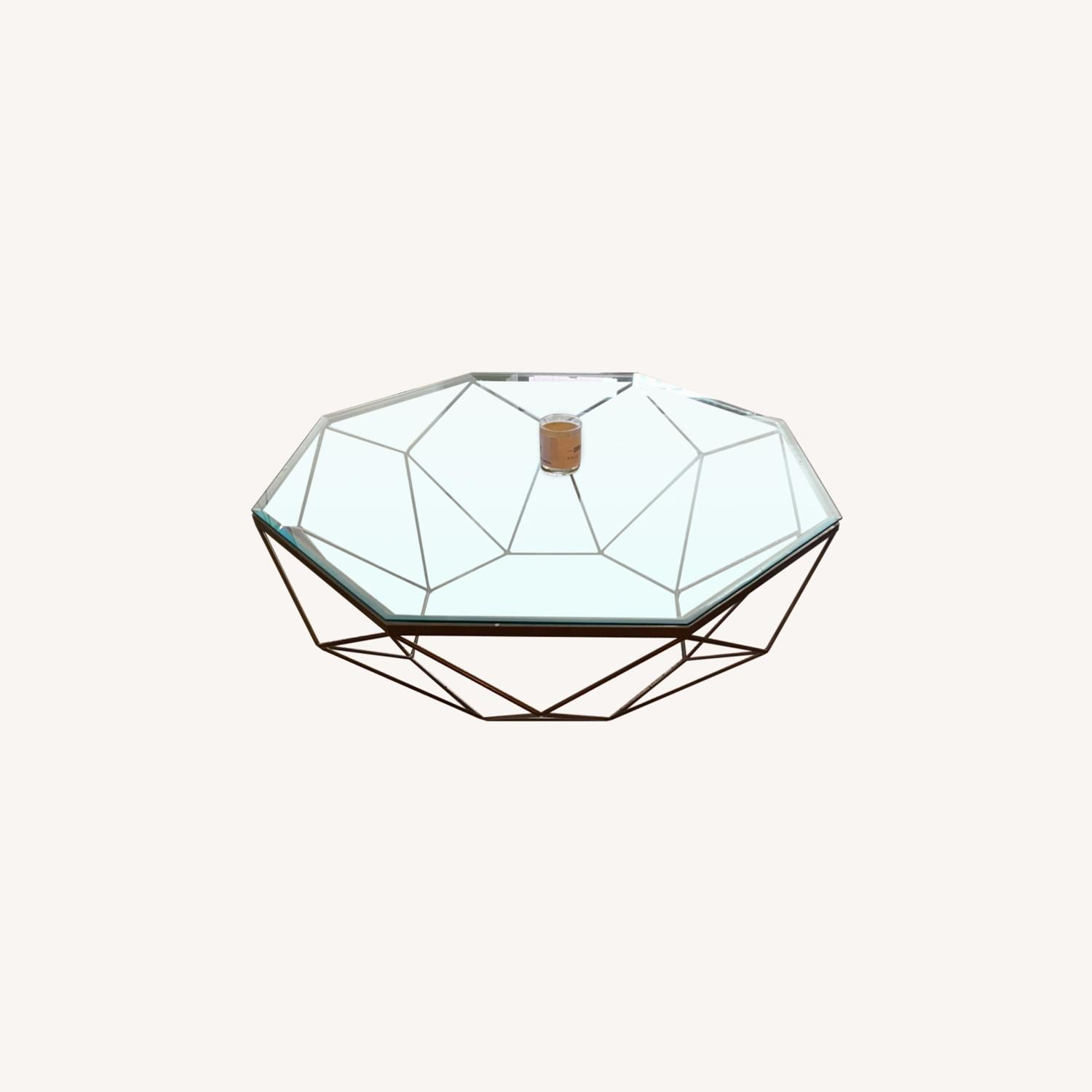 Four Hands Geometric Coffee Table - image-0