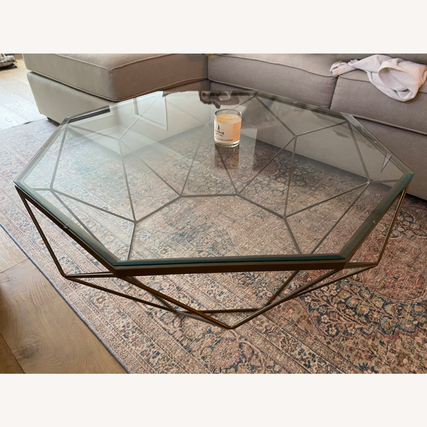 Four Hands Geometric Coffee Table - image-2