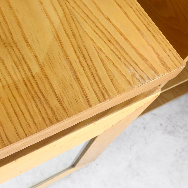Pair Vintage Modern Bamboo Nightstands - image-14