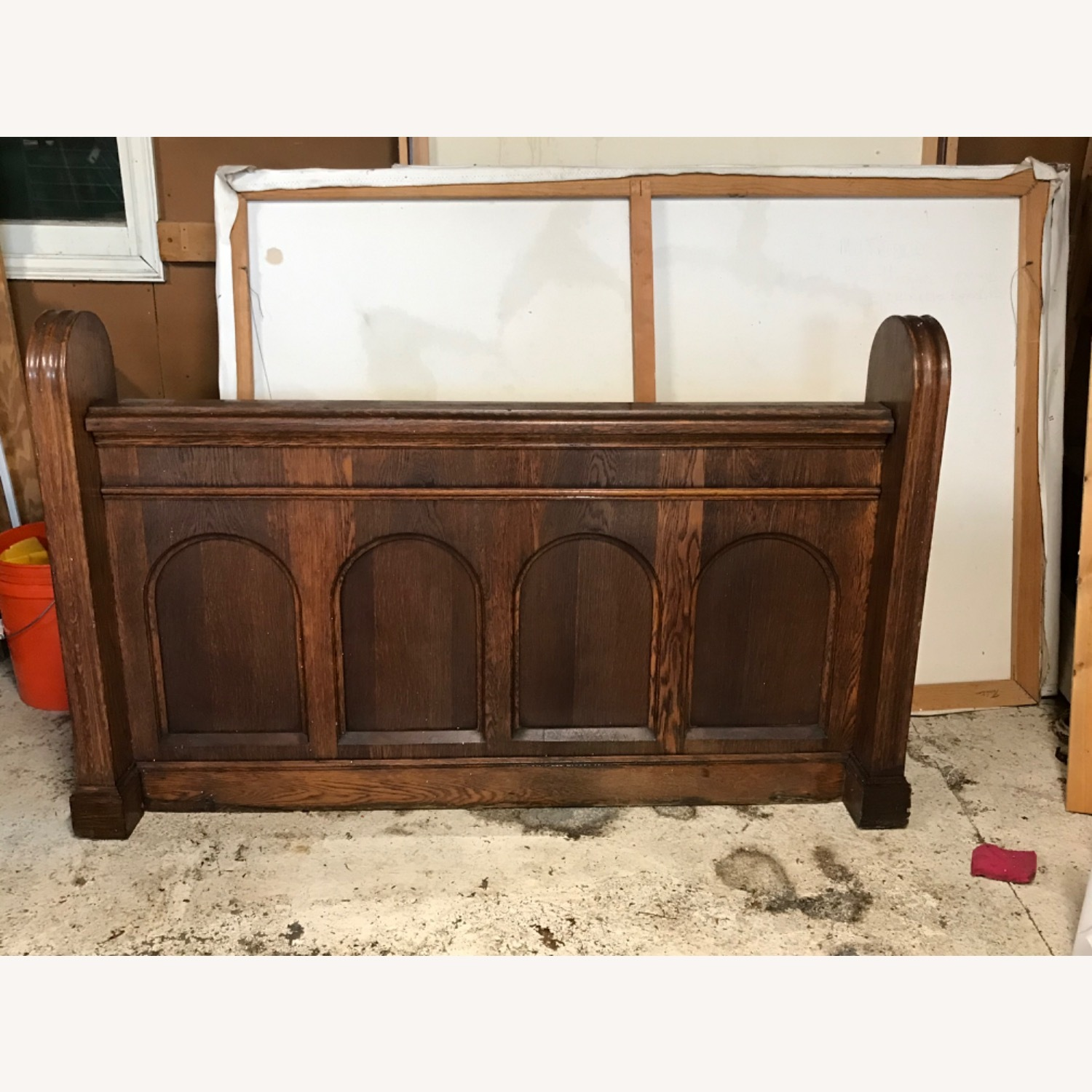 Church Pew Front - image-1