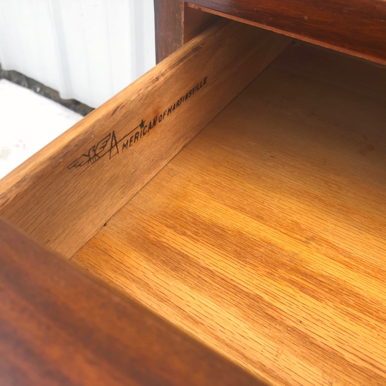 Mid-Century Nightstand by American of Martinsville - image-6